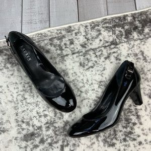 Lauren Ralph Lauren patent leather heels